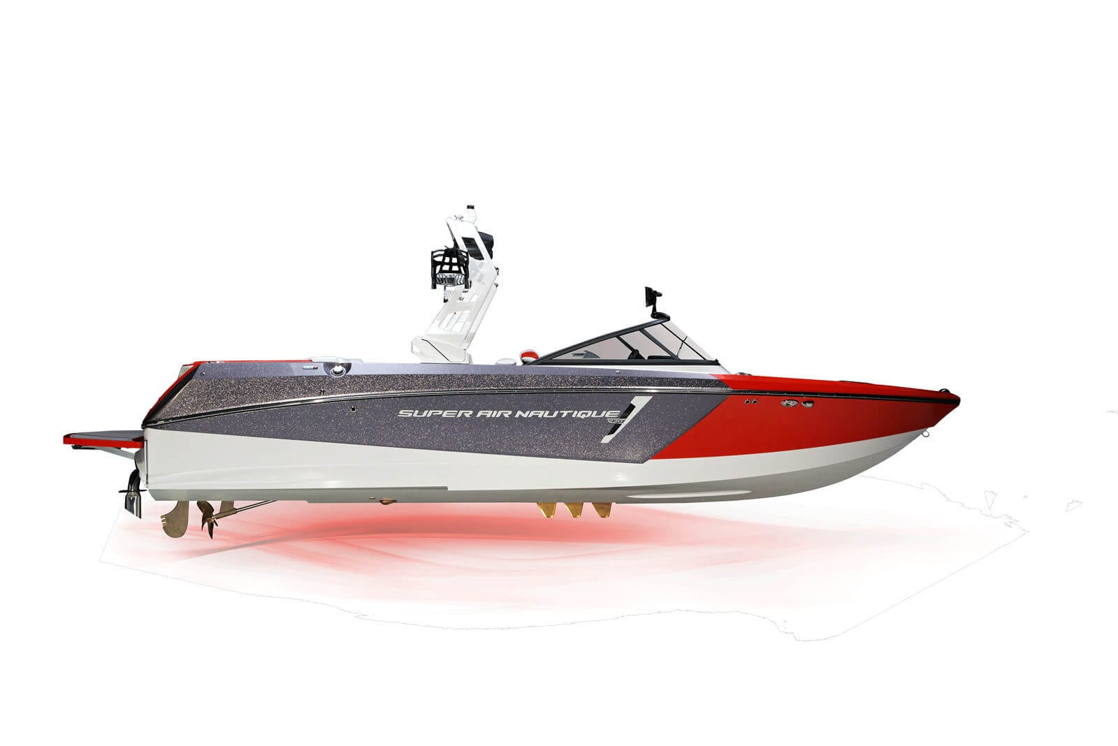 סירת ספורט וויקסרף וויקבורד NAUTIQUE 230 - סטרים יאכטות