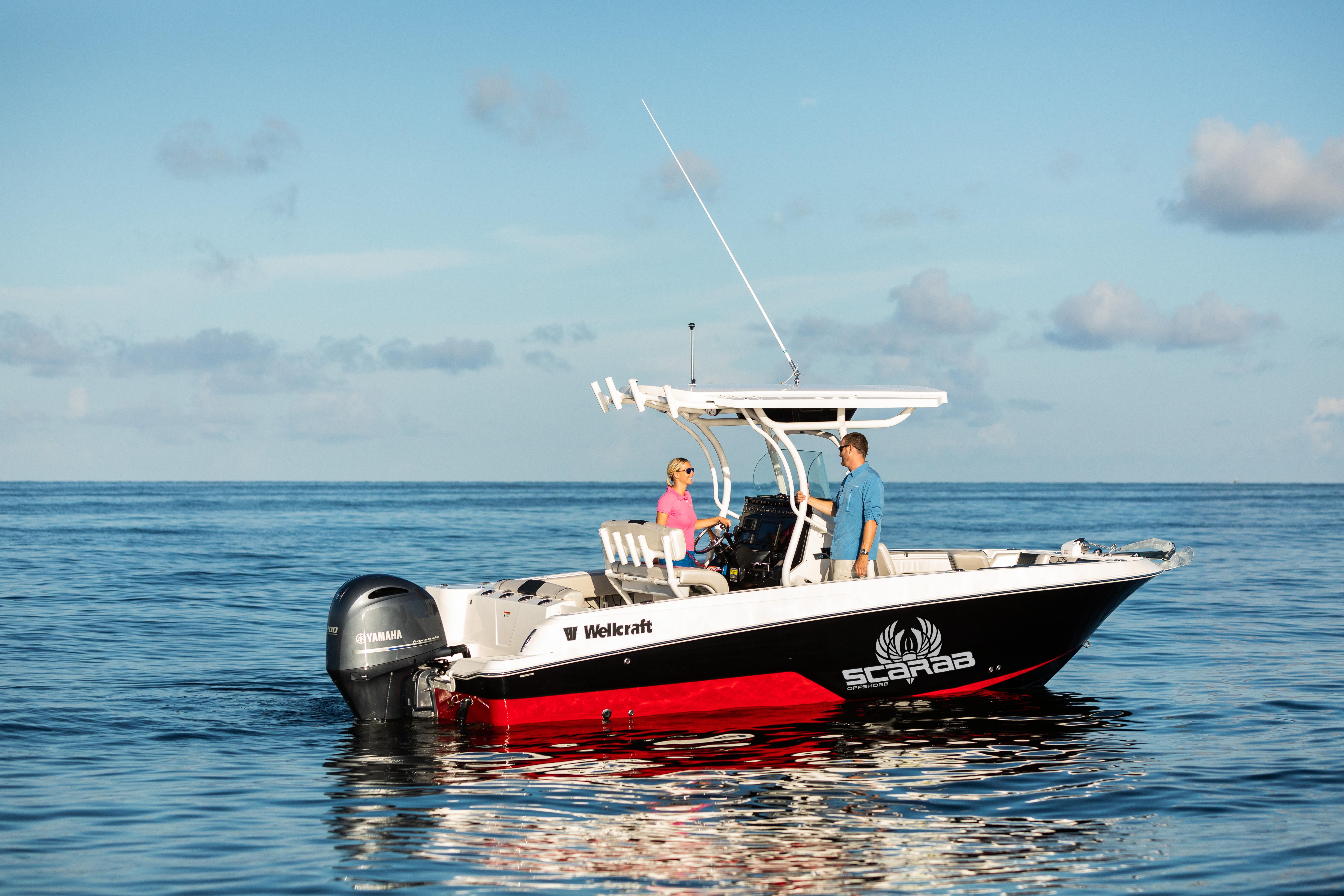 סירת דייג Wellcraft Fisherman 222 - סטרים יאכטות