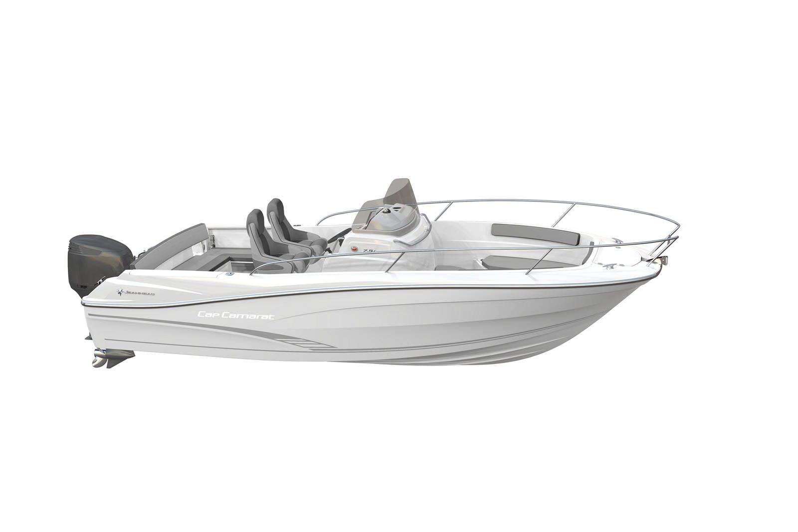 סירת מנוע JEANNEAU CAP CAMARAT 7.5CC - סטרים יאכטות
