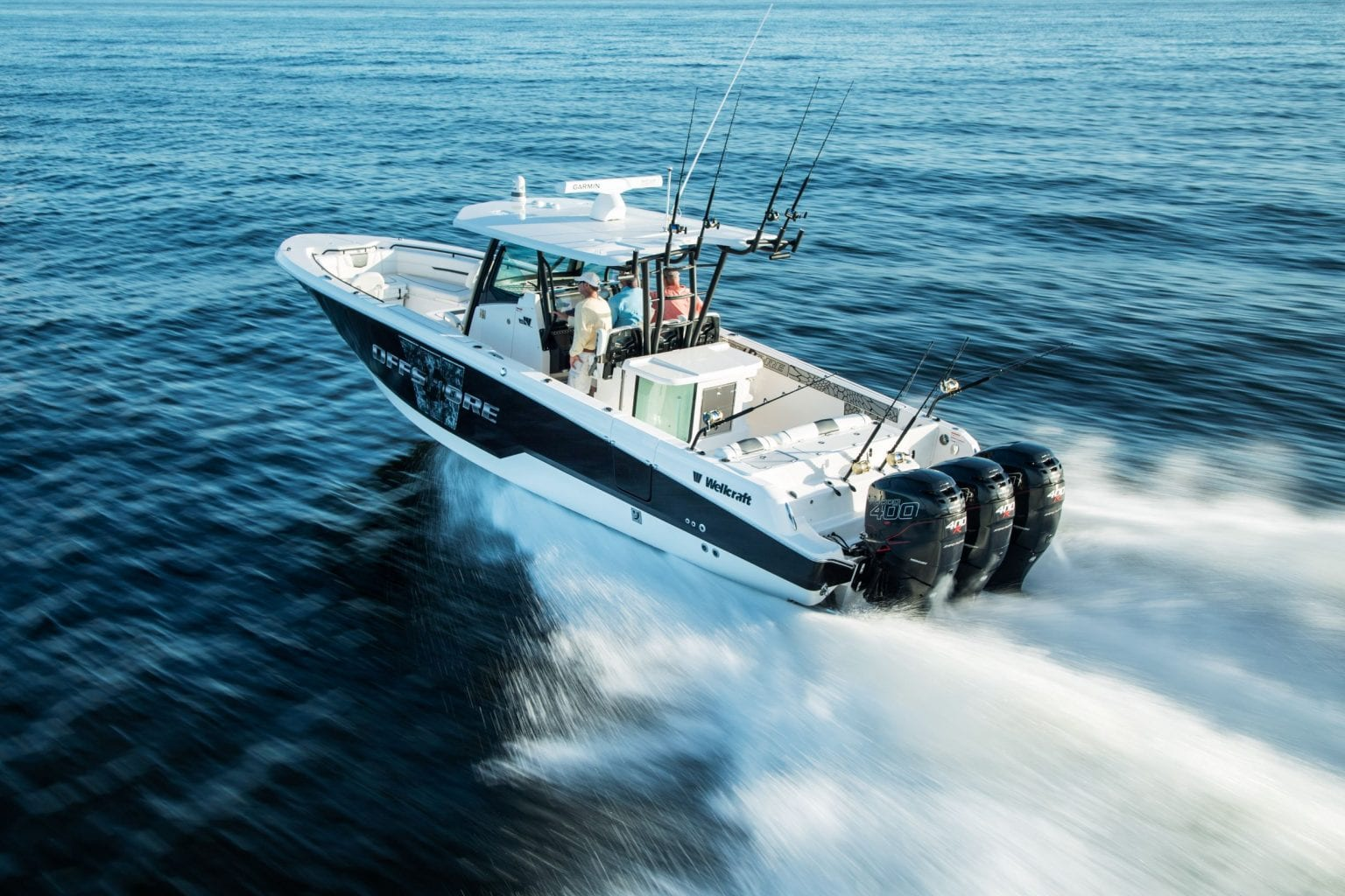 Fishing Boat Wellcraft Fisherman 352 - Stream Yachts