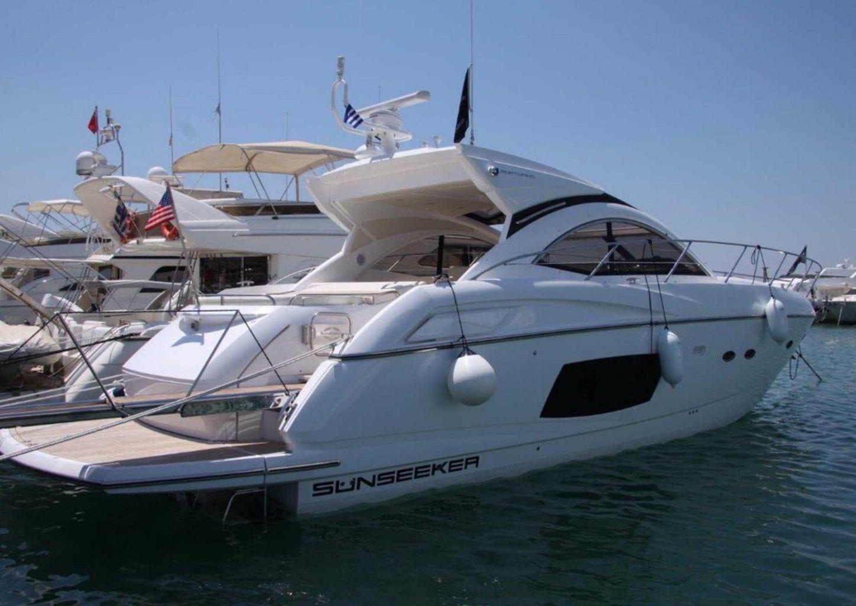 יאכטה מנועית Sunseeker Portofino 48 יד שניה - סטרים יאכטות