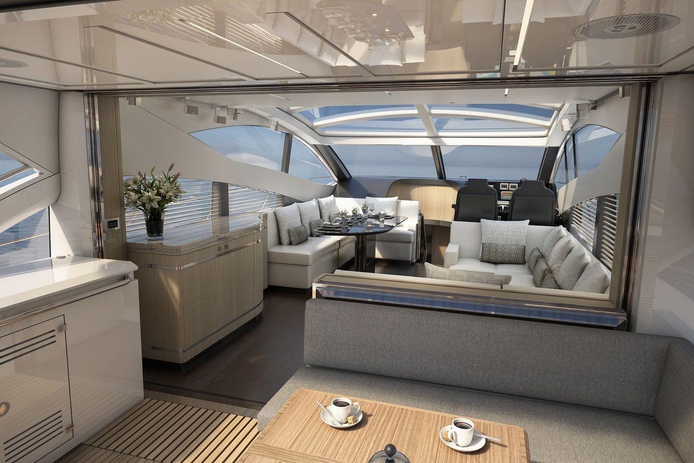 יאכטה Sunseeker Predator 68 - PREDATOR 68 - Stream Yachts
