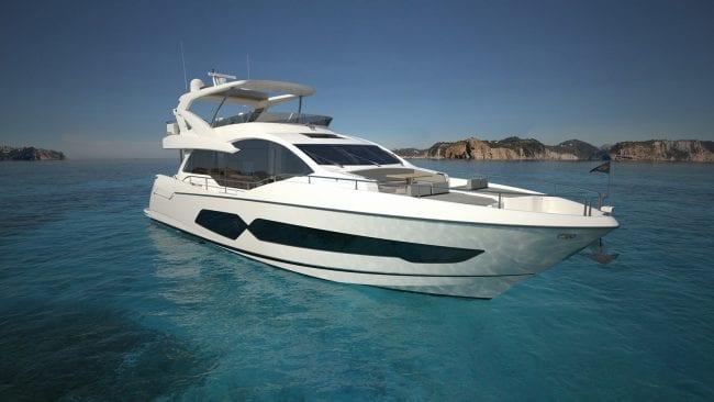 יאכטה Sunseeker Yacht 76