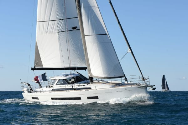 European Yacht Of The Year 2019 Barcelona Trials 15 October 2019 Amel 60