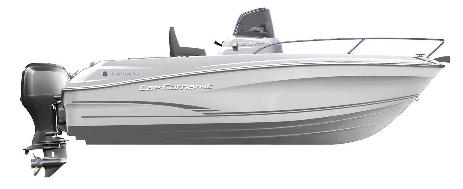 סירת מנוע Jeanneau Cap Camarat 5.5cc - סטרים יאכטות