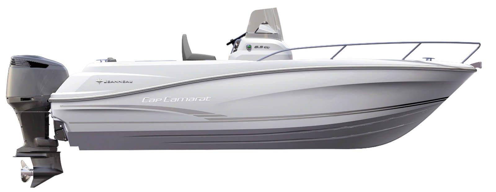 סירה JEANNEAU CAP CAMARAT 6.5 CC יד שניה - סטרים יאכטות