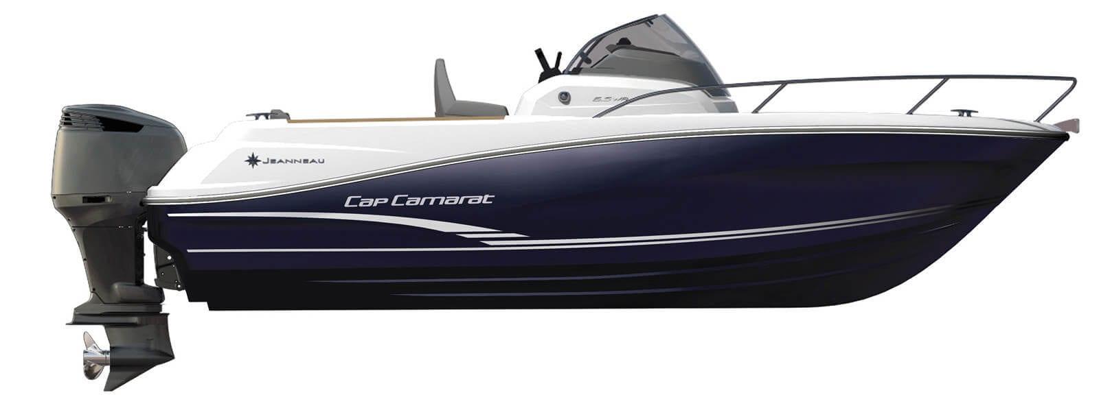 סירת מנוע Jeanneau Cap Camarat 6.5WA - סטרים יאכטות