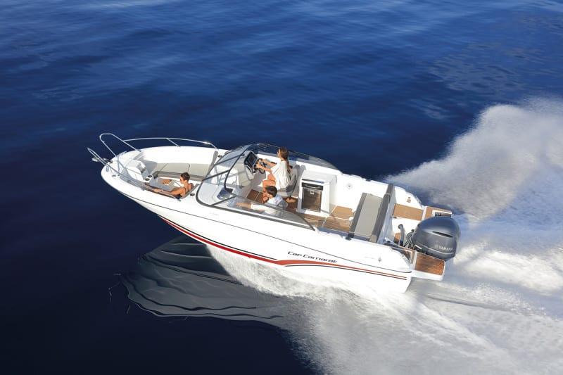 סירת מנוע JEANNEAU CAP CAMARAT 7.5 BR - סטרים יאכטות