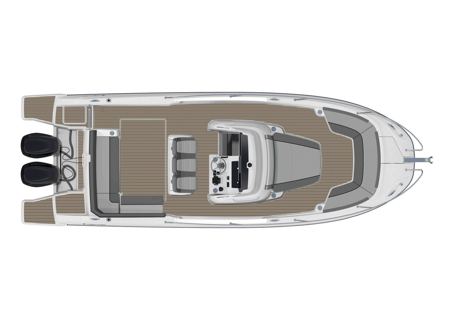 סירת מנוע JEANNEAU CAP CAMARAT 9.0CC - סטרים יאכטות