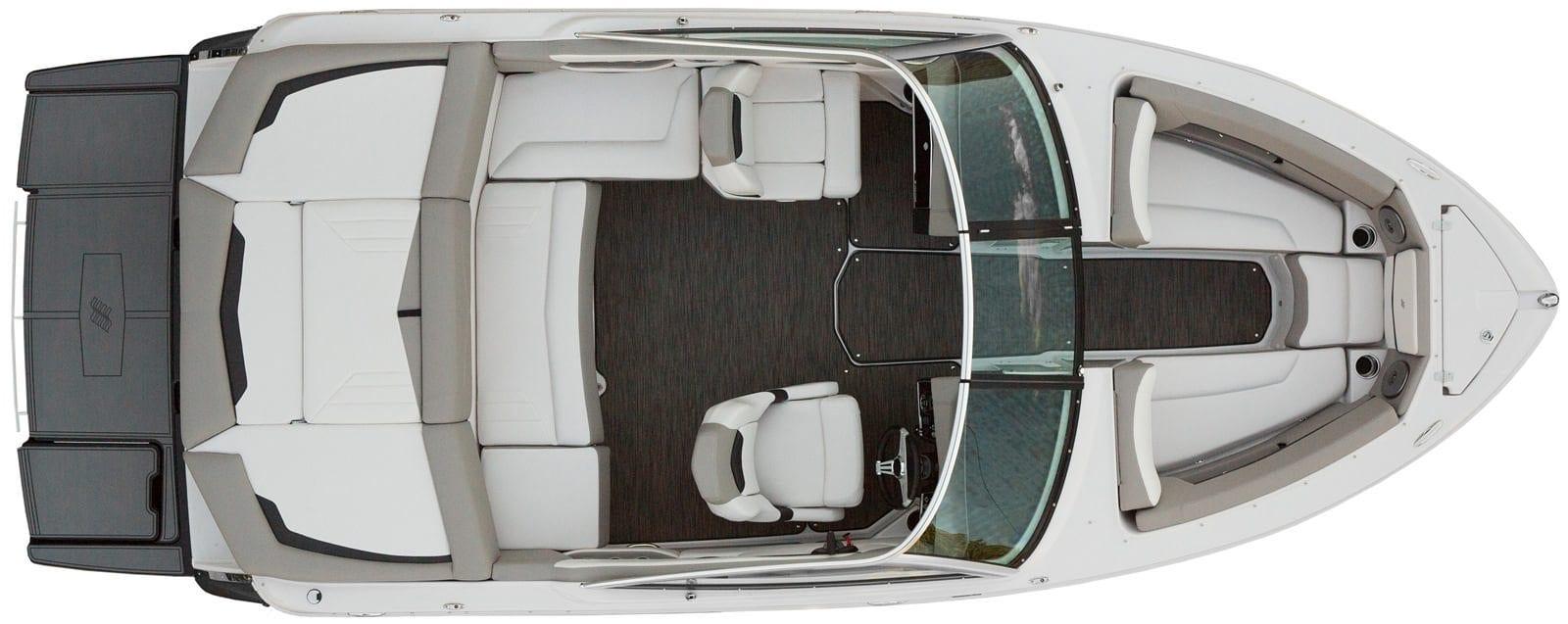 סירת מנוע (ספורט) Four Winns 210 - סטרים יאכטות