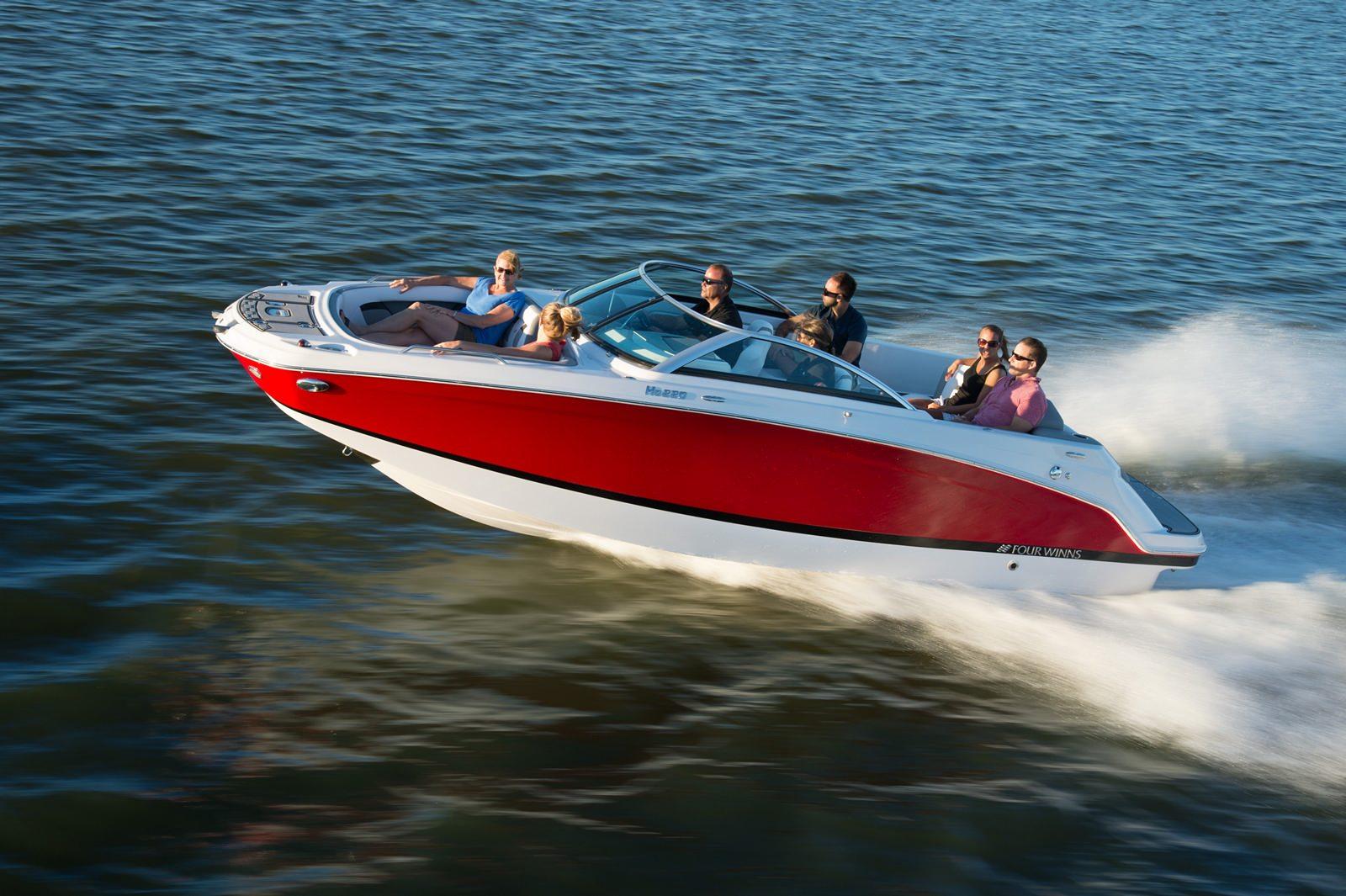סירת מנוע (ספורט) Four Winns 220 - סטרים יאכטות