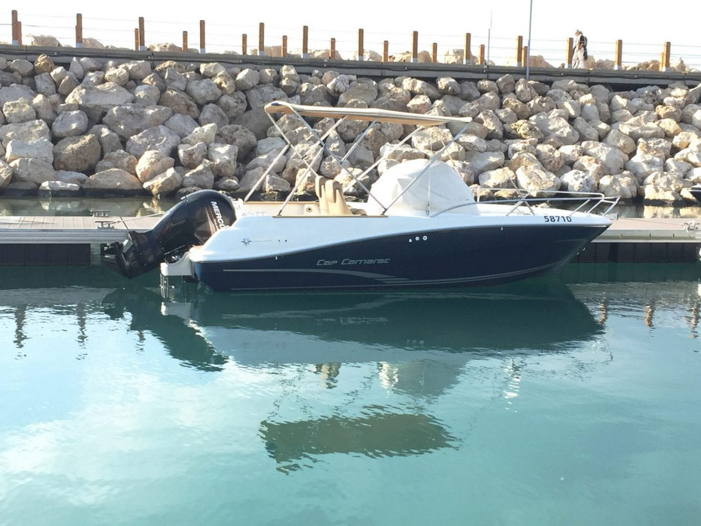 סירת מנוע Jeanneau Cap Camarat 6.5WA יד שניה - סטרים יאכטות