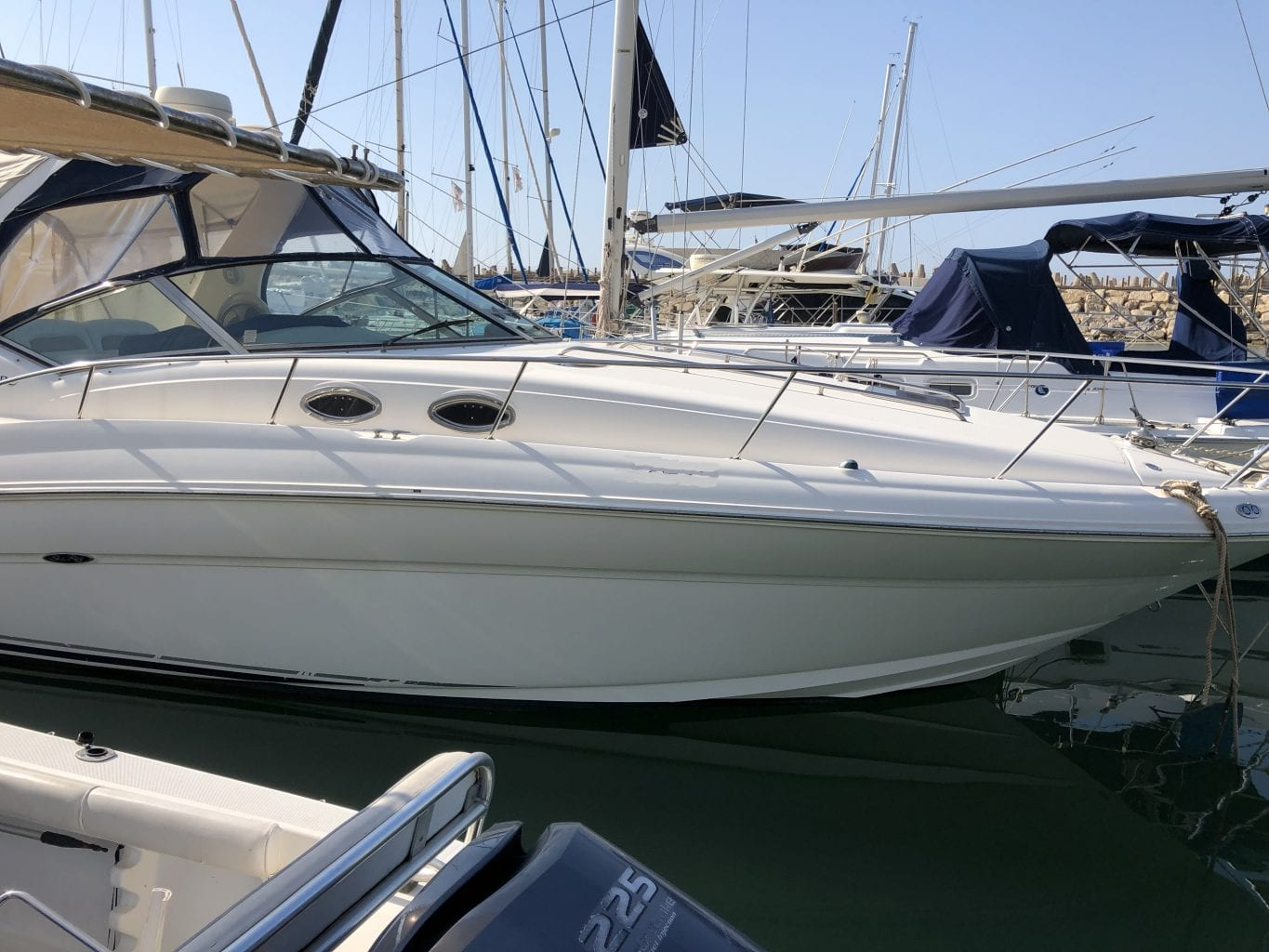 יאכטה מנועית SEA RAY 360 SUNDANCER יד שניה - סטרים יאכטות
