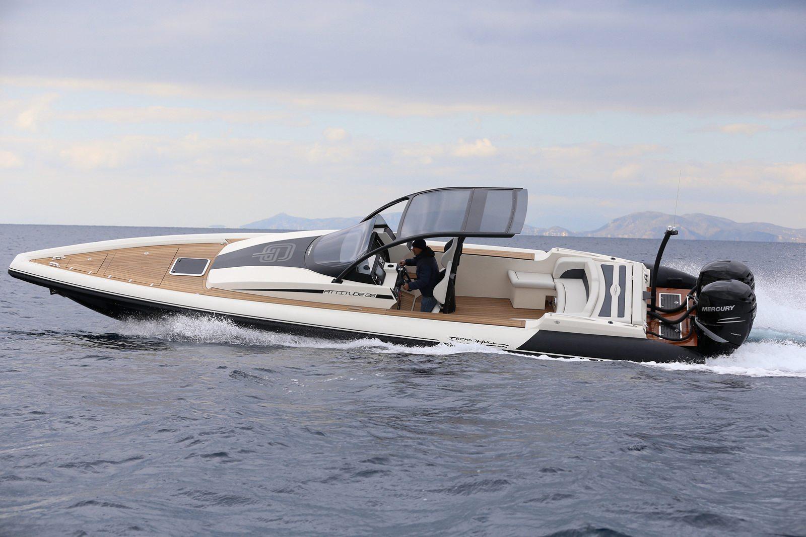 סירה חצי קשיחה TECHNOHULL ATTITUDE 35 - TECHNOHULL ATTITUDE 35 - Stream Yachts