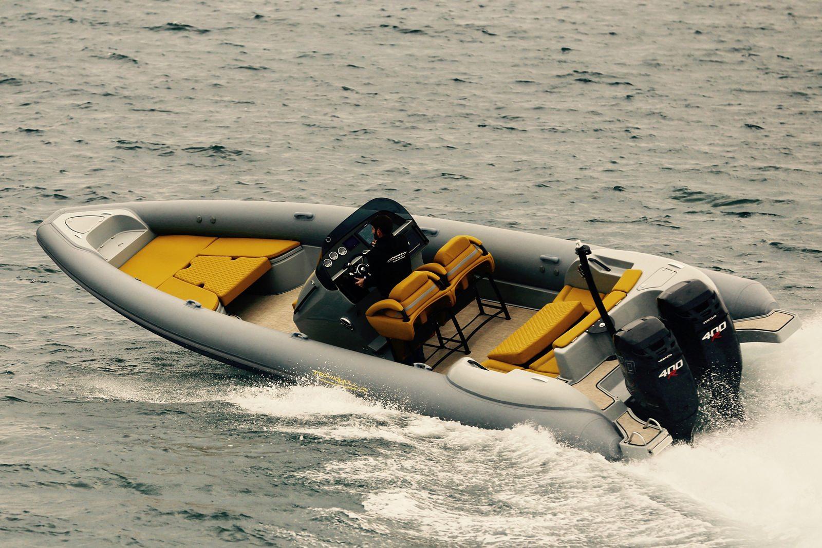 סירת ספורט GLASTRON GTD 205 - TECHNOHULL seaDNA999G5 - Stream Yachts