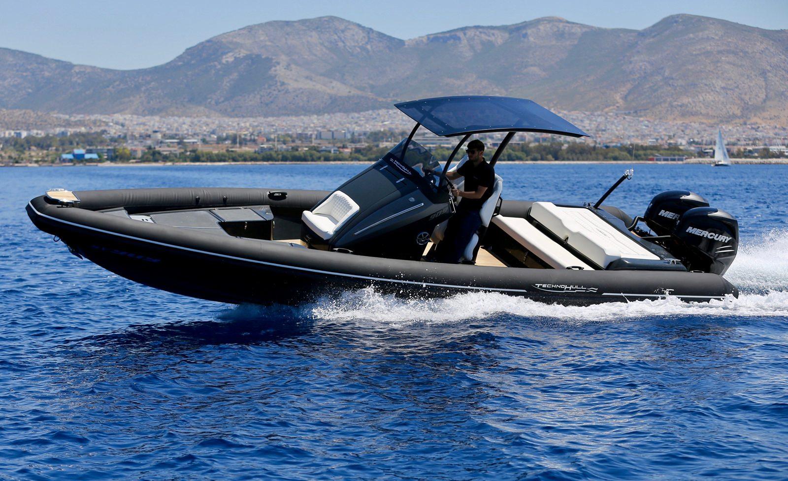 סירה חצי קשיחה TECHNOHULL SV909 - סטרים יאכטות
