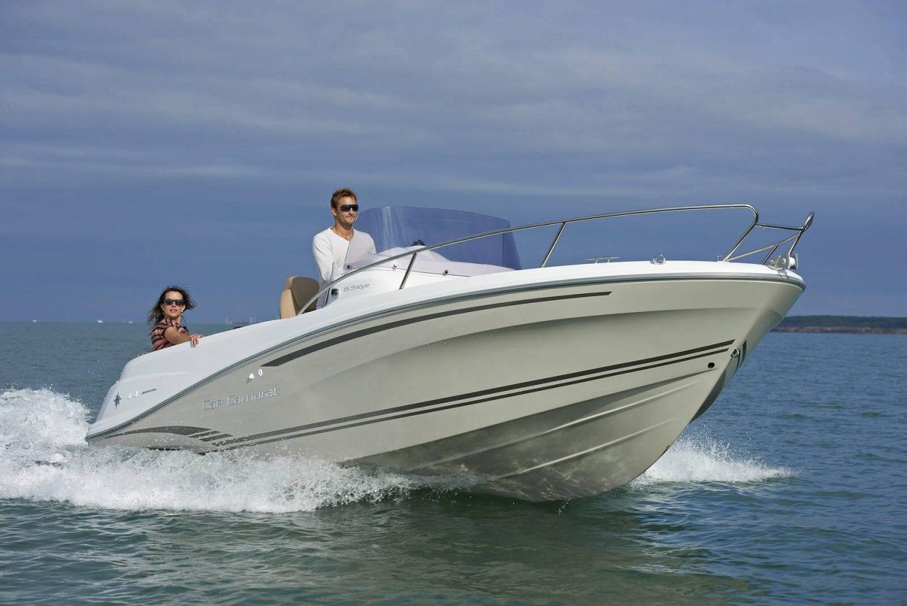 סירת מנוע Jeanneau Cap Camarat 6.5cc