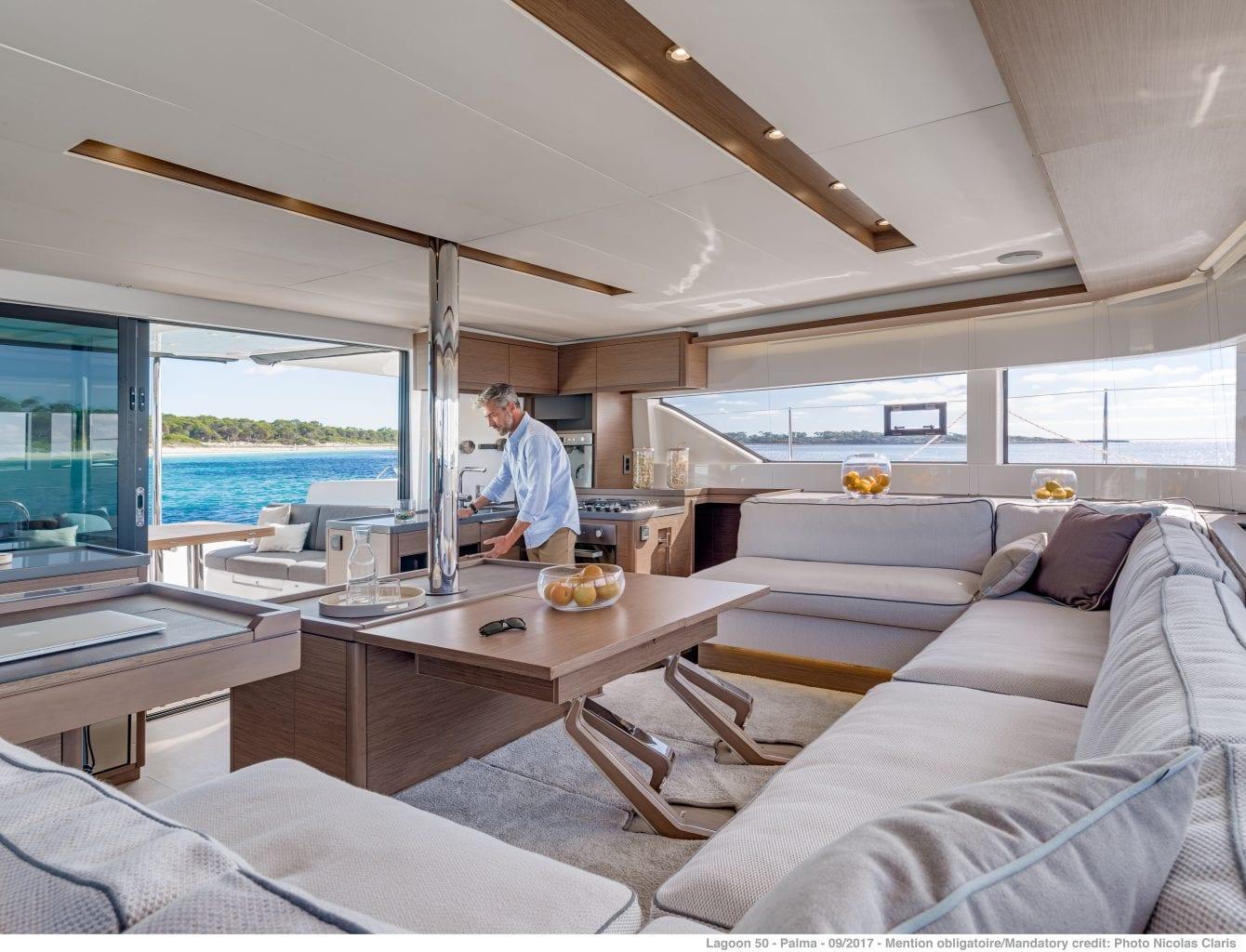 יאכטה קטמרן Lagoon 50 - LAGOON 50 - Stream Yachts