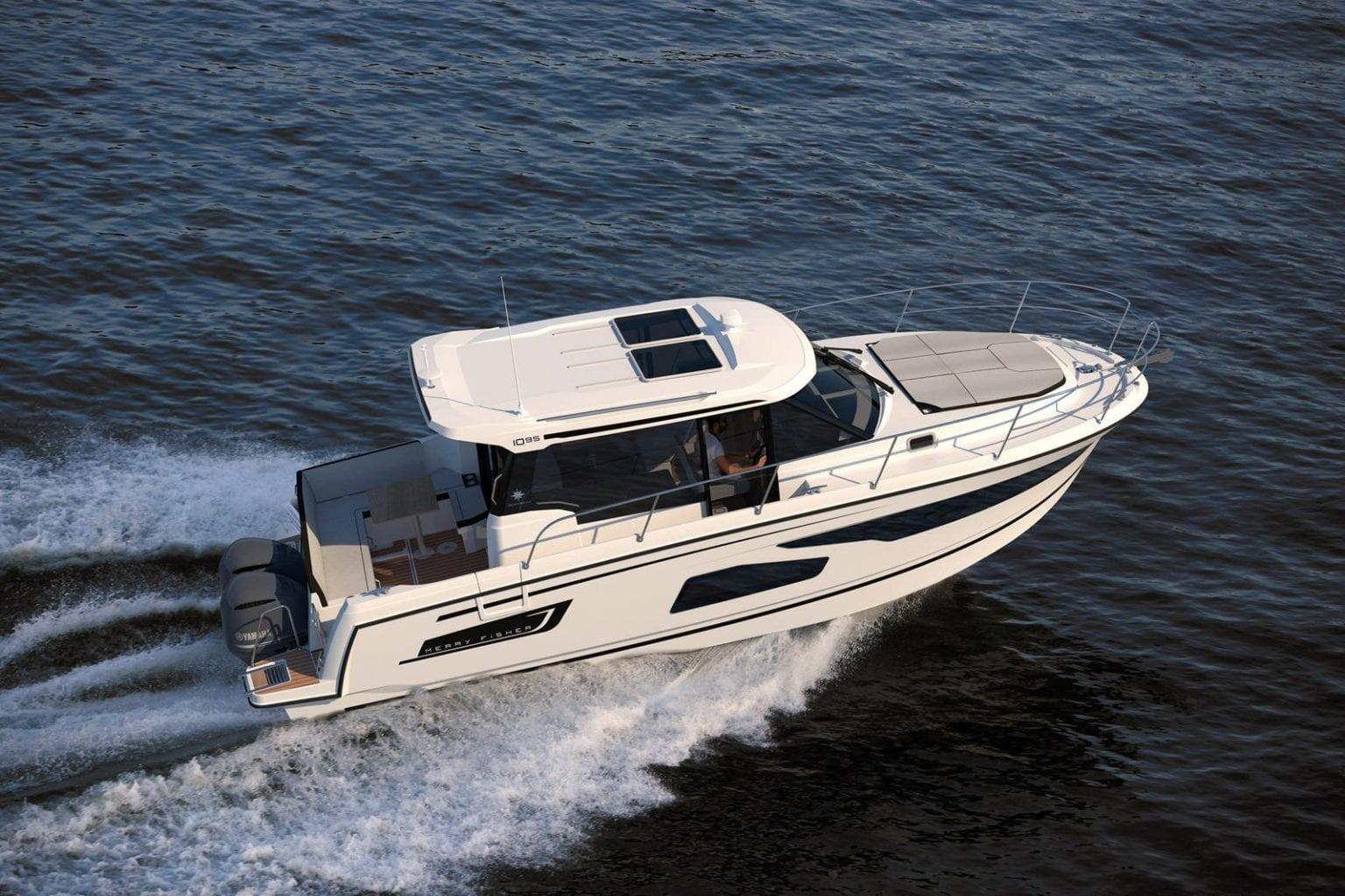 סירת מנוע JEANNEAU MERRY FISHER 1095 - סירת מנוע JEANNEAU MERRY FISHER 1095 - סטרים יאכטות