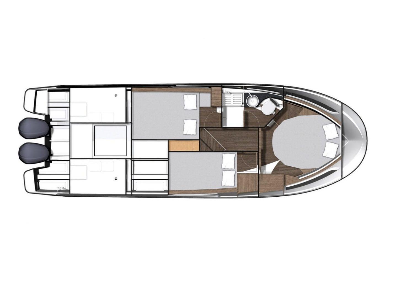 סירת מנוע JEANNEAU MERRY FISHER 1095 - סטרים יאכטות