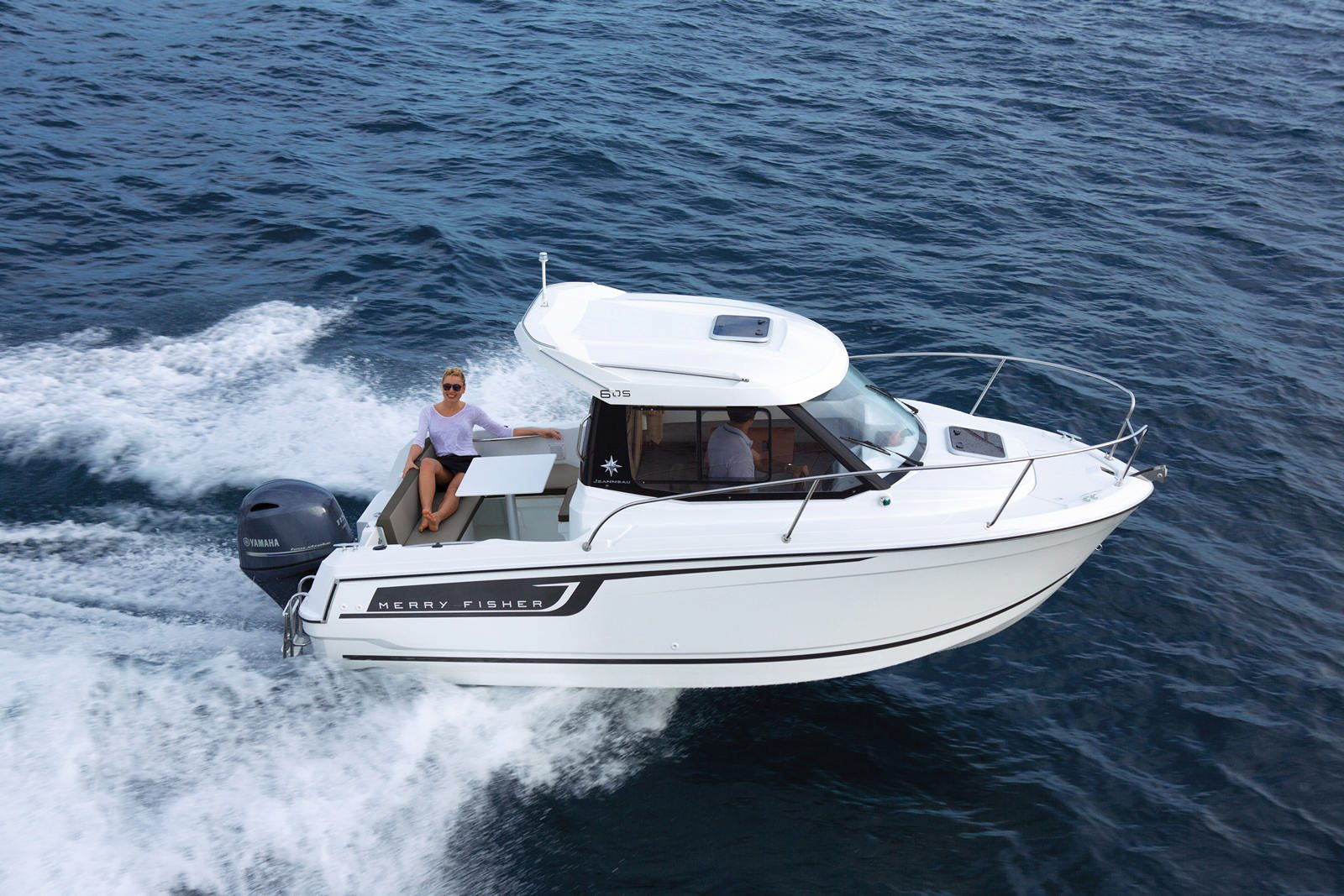 סירה מנוע JEANNEAU MERRY FISHER 605 - סירה מנוע JEANNEAU MERRY FISHER 605 - סטרים יאכטות