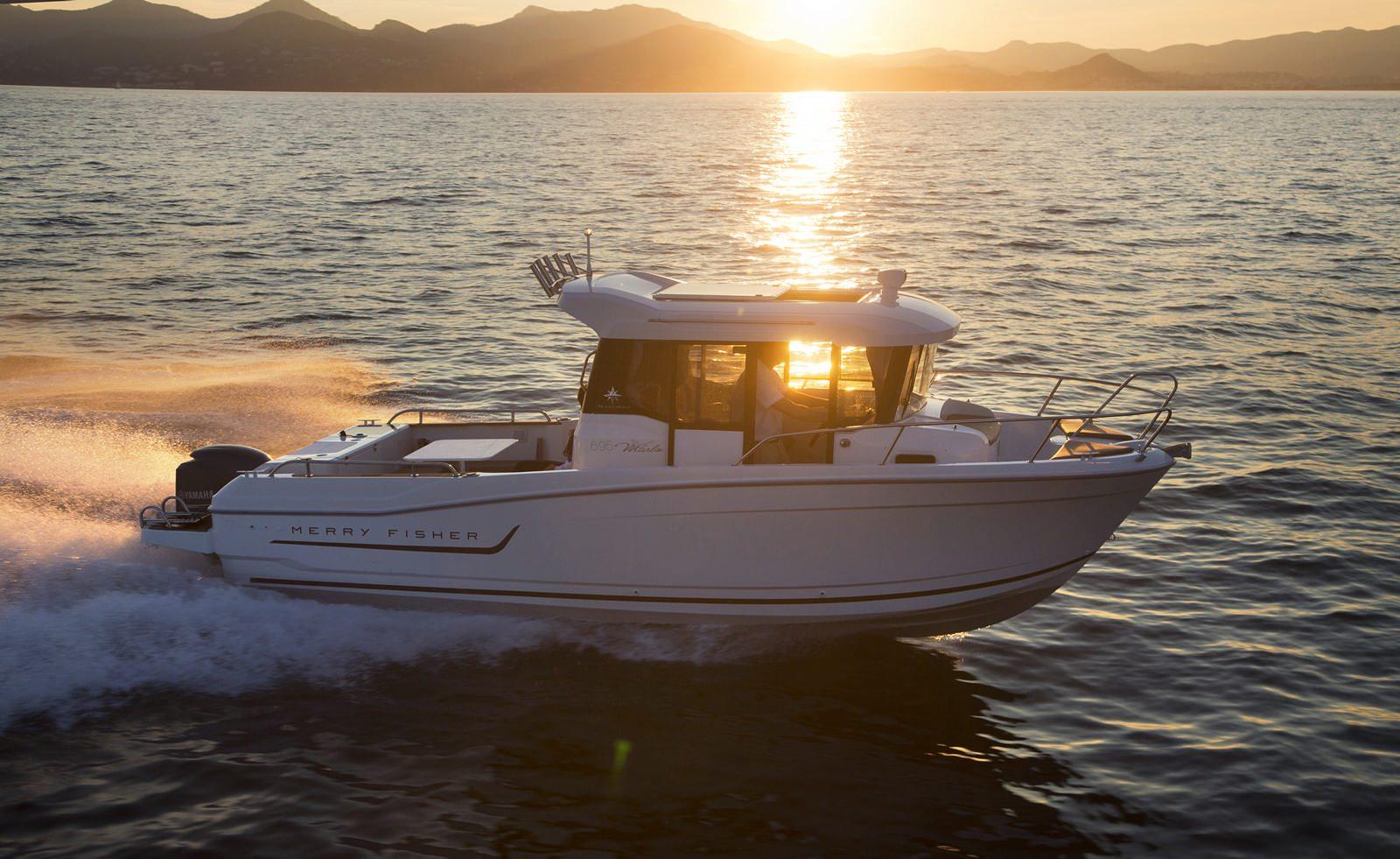סירת מנוע JEANNEAU MERRY FISHER 695 Marlin - סטרים יאכטות