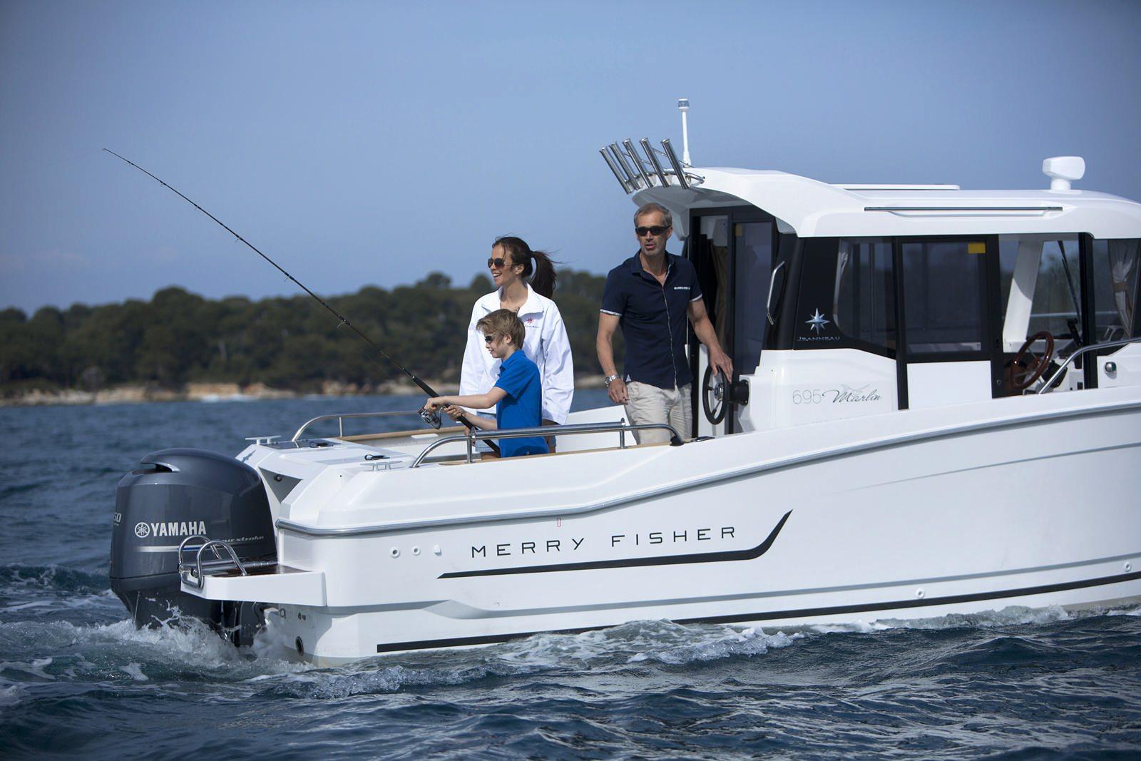 סירת מנוע JEANNEAU MERRY FISHER 695 Marlin - סירת מנוע JEANNEAU MERRY FISHER 695 Marlin - סטרים יאכטות