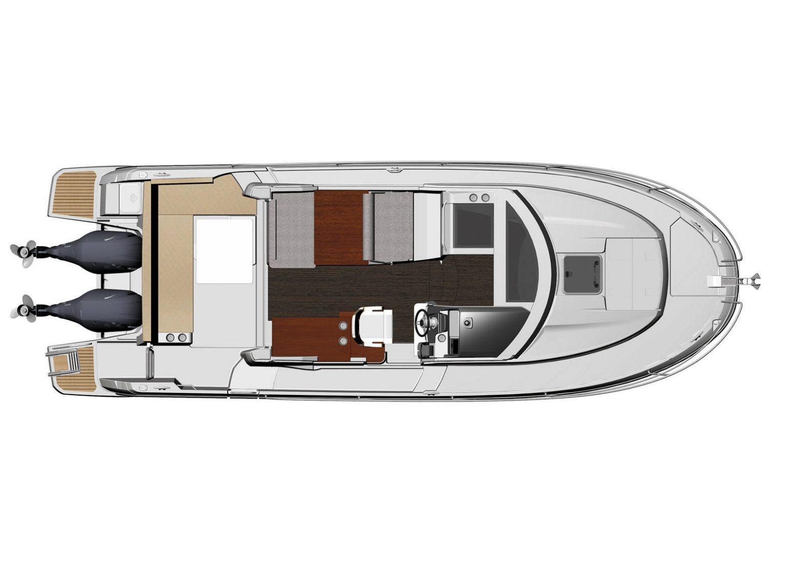 סירת מנוע JEANNEAU MERRY FISHER 895 - סטרים יאכטות