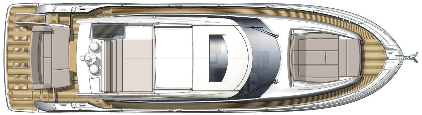 יאכטה Prestige 560 Sport - סטרים יאכטות