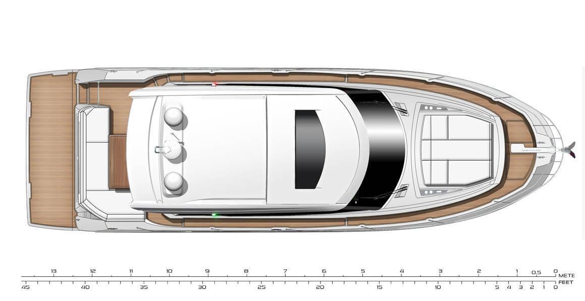 יאכטה Prestige 460 Sport - סטרים יאכטות