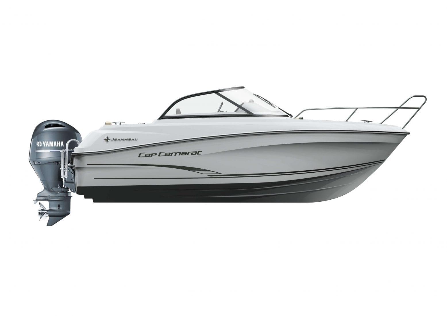 סירת מנוע Jeanneau Cap Camarat 5.5BR - סטרים יאכטות