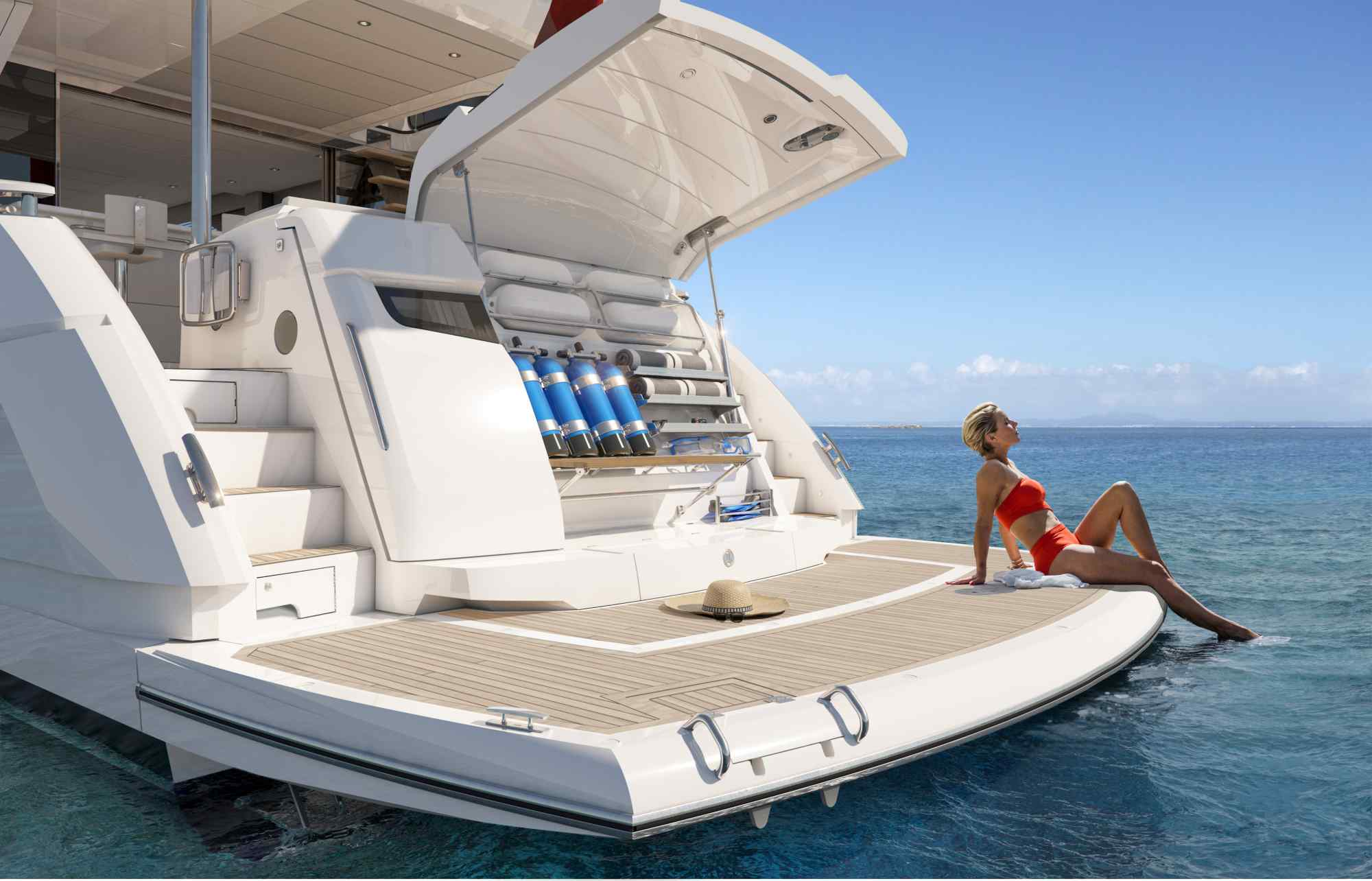 SUNSEEKER MANHATTAN 68 - NEW - סטרים יאכטות