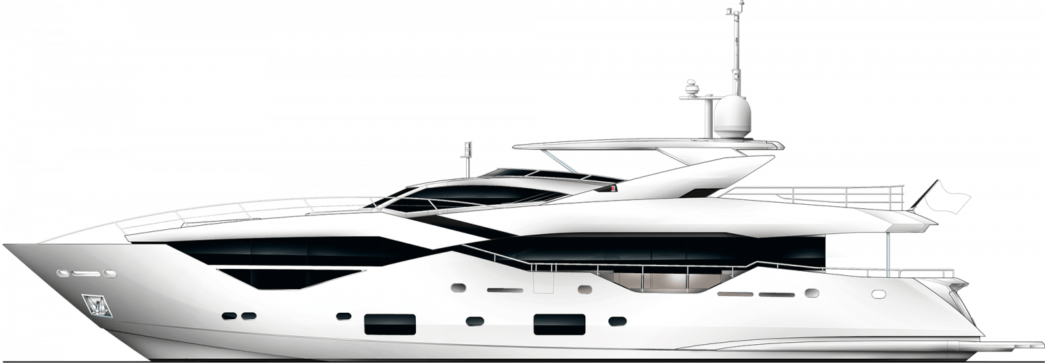 SUNSEEKER SUPERYACHT 116 - Stream Yachts