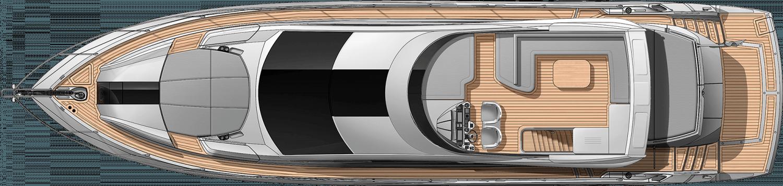 יאכטה Sunseeker Sport Yacht 68 - סטרים יאכטות