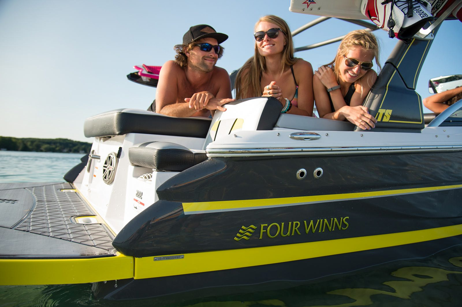 סירת מנוע (ספורט) Four Winns 222 - Four Winns 222 - Stream Yachts