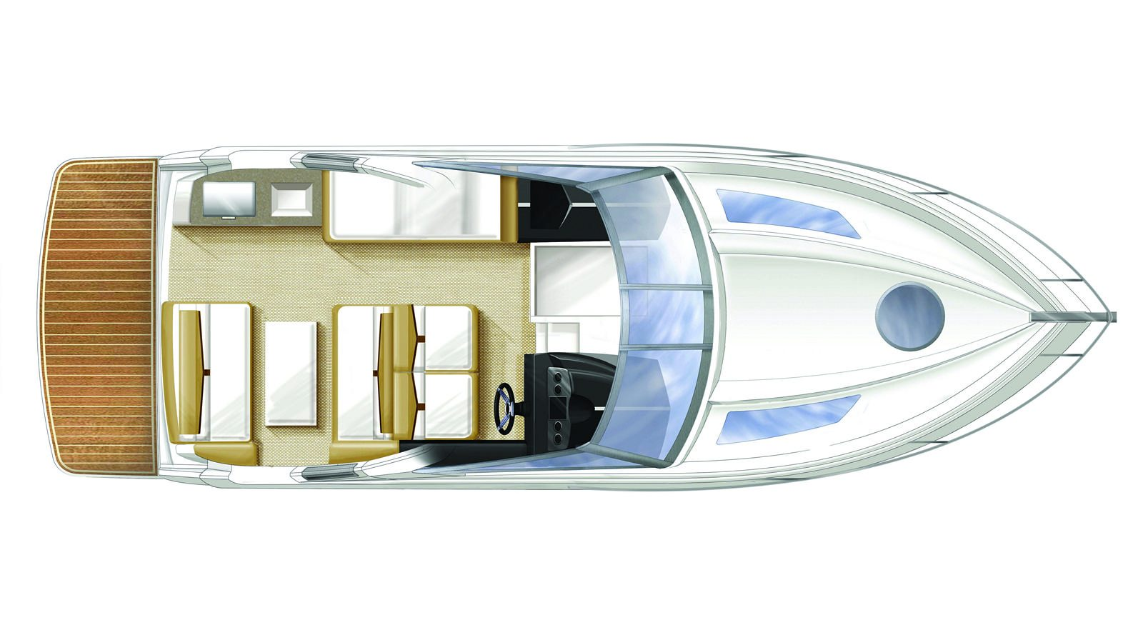 Four Winns V275 - Stream Yachts