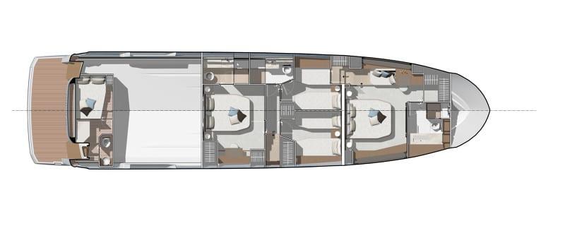 PRESTIGE X70 - NEW - סטרים יאכטות
