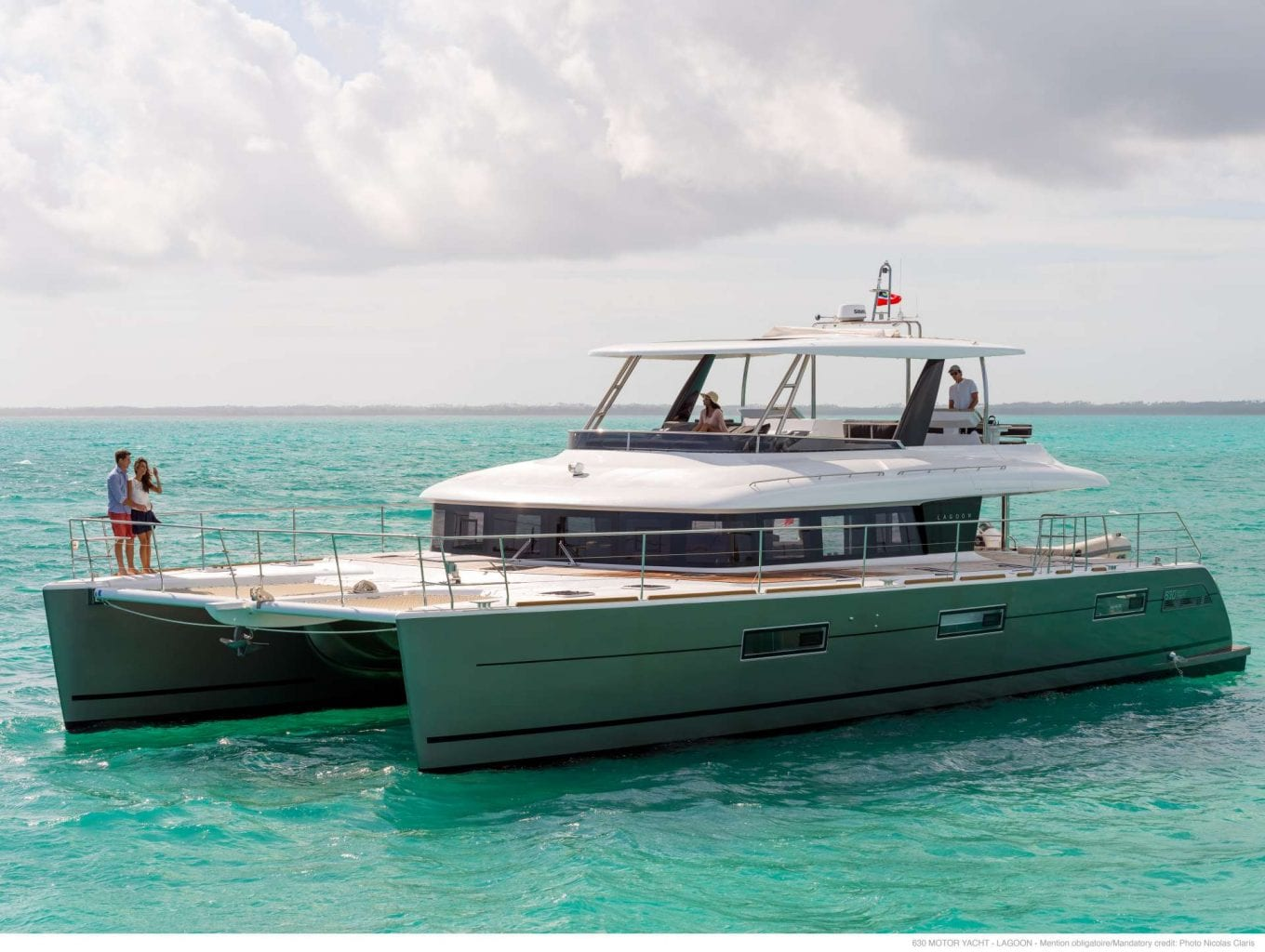 POWER CATAMARAN LAGOON 63 - GALUX One - סטרים יאכטות