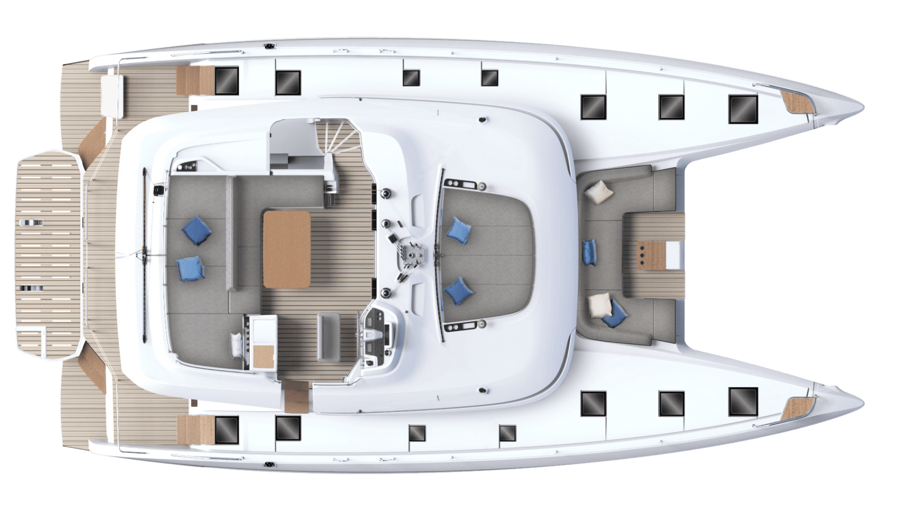 LAGOON 55 - NEW - סטרים יאכטות